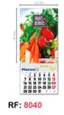 TD4A BY TABLETYPC: Calendario pared cocina: 8040