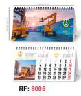 TD4A BY TABLETYPC: Calendario sobremesa espiral: 8005